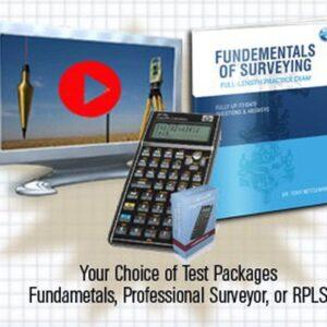 Fundamentals of Surveying Exam Combo