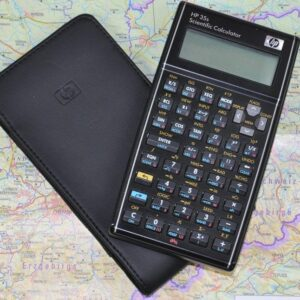 Pre-Programmed HP35 Calculator