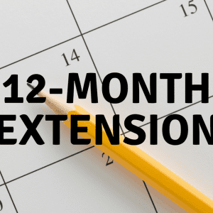12 - Month Extension