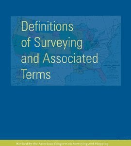 ACSM Definitions of Surveying and Associated Terms